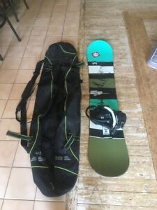 Snowboard and bag. Need gone ASAP