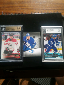 MITCH MARNER TRIO  16-17 -UD CANVAS ULTIMATE RC AUTO UD YOUNG GU