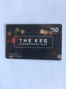 The KEG Gift Card