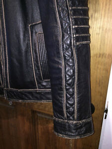 AFFLICTION LEATHER JACKET XL Gatineau Ottawa / Gatineau Area image 4