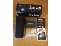 Jim Dunlop Cry Baby Wah Wah Pedal Boxed Excellent Condition