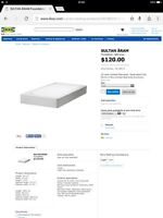 twin ikea bed foundation