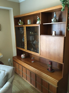 Mid-Century Modern Teak Storage and Display Unit
