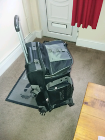 Large roller luggage bag