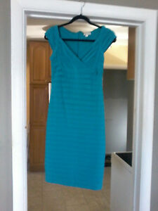 Teal Colored Dress