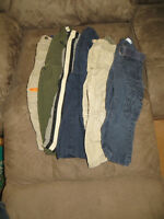 lot of boys size 24 month pants