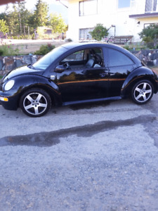 2001 Volkswagen New Beetle Coupe (2 door)