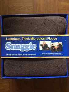 Snuggie (Chocolate Brown, new in box)