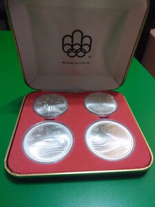 1976 Olympic Canada Silver Coin Sets