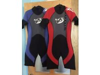 Kids Wet Suits and Life Jackets