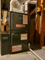 Furnaces and air conditioners installed