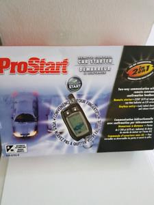 Prostart car starter *new*
