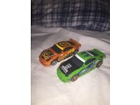 2 Scalectrix Hornby Cars