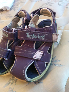 Timberland girls shoe sandals, size 10 toddler's.