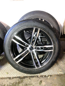 P235/55R20 Toyo Winter Tires & Rims