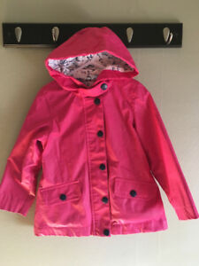 Sz 3 Girls Joe Fresh Rain Coat & Boots