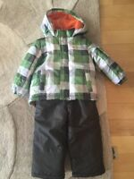 Carter's Winter Jacket and Snow Pants