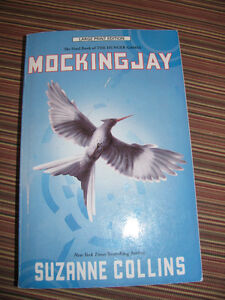 Mockingjay - the final book of THE HUNGER GAMES series