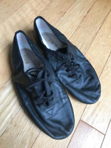 Bloch - Black Leather - Split Sole - Jazz Dance Shoes - Size 6