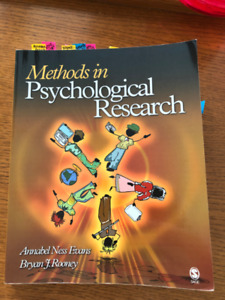 Methods in Psychological Research textbook - Evans and Rooney