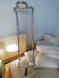 Bed bar chrome
