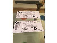 Carfest North BBC Children in need tickets X 2