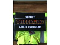 Tuffking safety shoes.