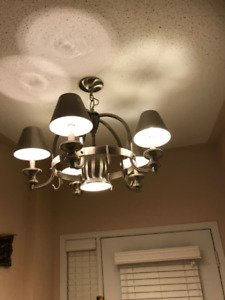CHANDLIER SET FOR SALE....LIKE NEW....WORKS GREAT