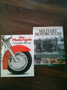 Motorcylcle Hardcovers