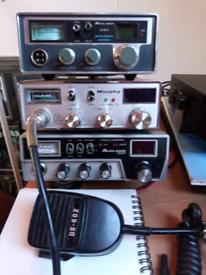 3x working am/fm and uk fm cb radios