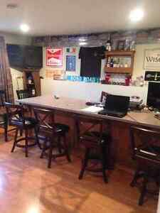 2 bedrooms in house close to long harbour and bull arm