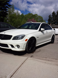 2011 Mercedes-Benz C63 AMG **P31-perf pack,spare rims,car cover