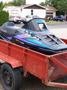 1994 Polaris Indy 600 XLT Triple trade for smaller sled