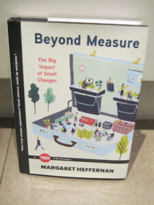 NEW book - Beyond Measure: The Big Impact of Small Changes