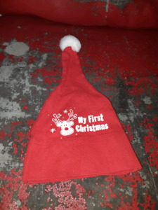 My first Christmas hat
