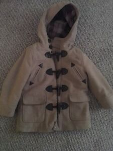 Urban republic wool coat boys 4 t buttons
