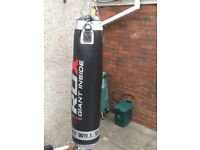 RDX 5ft punchbag with bracket and new fixing bolts