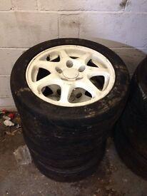 Honda Civic EK9 wheels & tyres