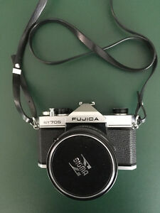 Fujica ST705 Film Camera, Lenses, Filters and Misc.