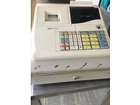 Elite cash register, with key and cash tray,