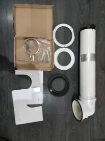 Used Worcester Bosch Boiler Telescopic Horizontal flu