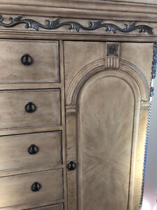 Oversized dresser- Riviera Collection Antique white