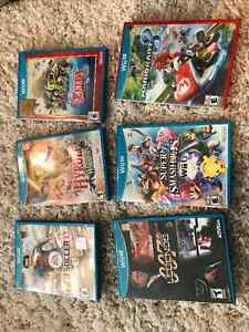 Wii U Games - Priced to go quick!