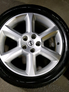 18 inch OEM Nissan maxima rims and tires