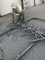 Commercial/Residential steel fabrication and erection.