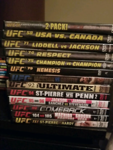UFC and Pride DVD's
