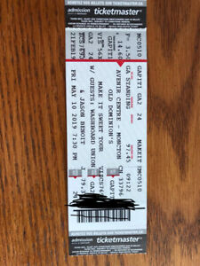 OLD DOMINION- MAY 10th- MONCTON- 2 floor seats-