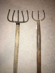 RARE VINTAGE ANTIQUE COMPLETE FISH PIKE SPEARS DISPLAY PIECES