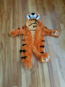 12m Halloween Tiger Costume EUC