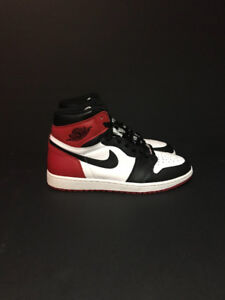 Jordan 1 black toe 2016 og everything